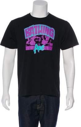 A Bathing Ape Logo Graphic Print T-Shirt w/ Tags