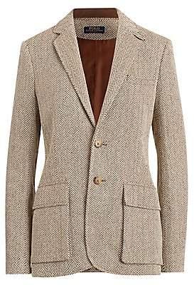 Polo Ralph Lauren Women's Herringbone Single-Breasted Blazer - Size 0