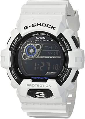 Casio Men's 'G-Shock' Quartz Stainless Steel and Resin Casual Watch