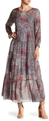 Luma Paisley Print Maxi Dress