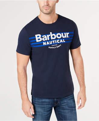 Barbour Men Bluefin Logo Graphic T-Shirt