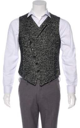 Alexander McQueen Fleece Wool & Mohair Vest