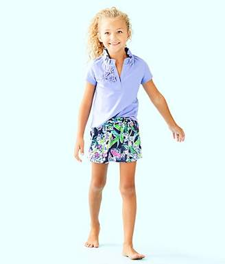 Lilly Pulitzer Girls Thierry Polo Top