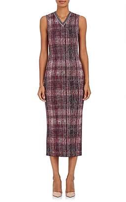 Victoria Beckham Women's Silk-Wool Jacquard-Knit Midi-Dress