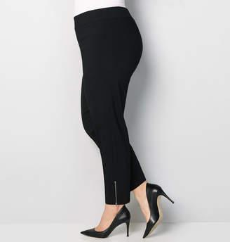 Avenue Zip Super Stretch Ankle Pant