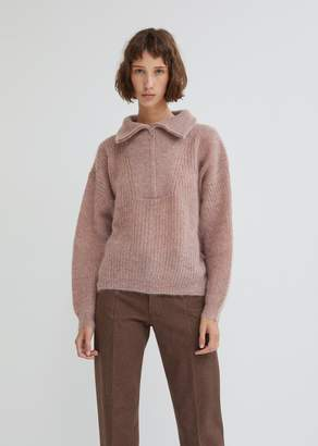 Etoile Isabel Marant Cyclan Mohair Half Zip Sweater