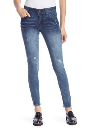 Democracy Ab Technology Distressed Skinny Jeans
