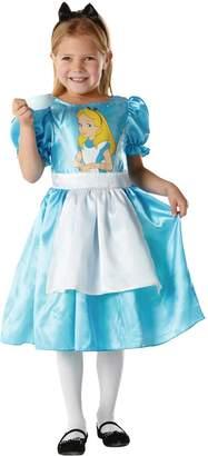 Disney Girls Alice in Wonderland - Child Costume