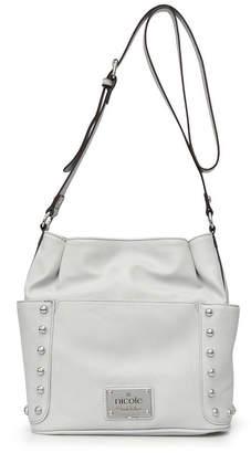 Nicole Miller Nicole By Sydney Faux Leather Bucket Bag