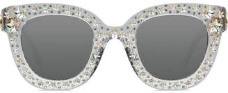 Gucci embellished cat-eye sunglasses