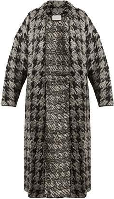 GABRIELA HEARST Laurianna houndstooth wool-blend cardigan