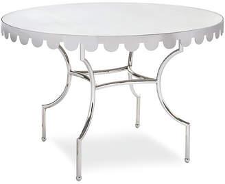 Caracole La Française Dining Table - Silver