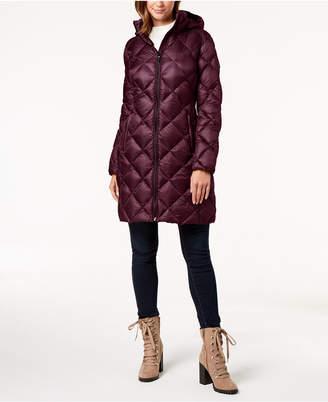 Michael Kors Hooded Packable Puffer Coat