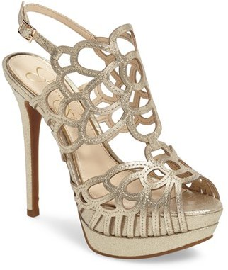 Women's Jessica Simpson Weslynn Cutout Platform Sandal $118.95 thestylecure.com