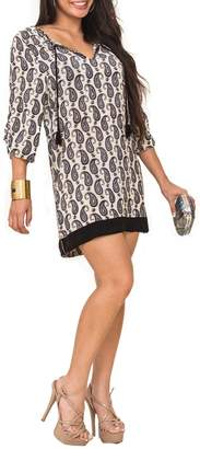 Tolani Paisley Tunic Dress