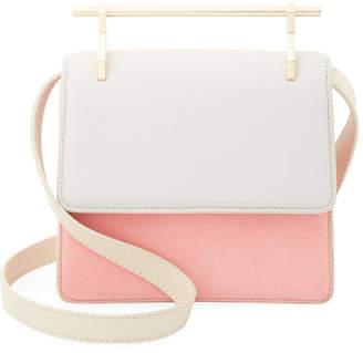 M2Malletier Mini Collectionneuse Leather Shoulder Bag