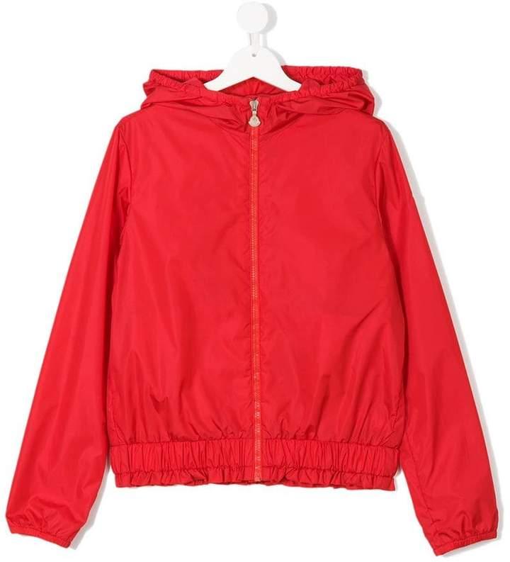 Teen hooded bomber jacket