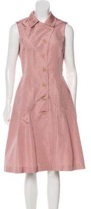 Prada Silk Polka Dot Dress