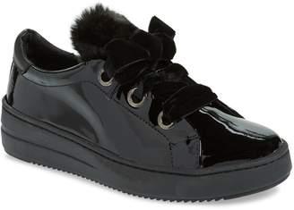 The Flexx Groove Faux-Shearling Trim Sneaker