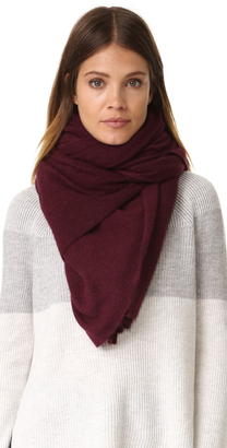 White + Warren Cashmere Travel Wrap Scarf $298 thestylecure.com