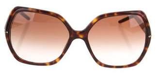 Burberry Square Tortoiseshell Sunglasses