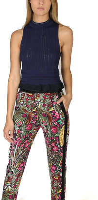 3.1 Phillip Lim Lace Cropped Tank
