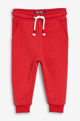 Next Boys Red Soft Touch Joggers (3mths-7yrs) - Red