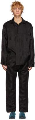 Haider Ackermann Black Aster Saglia Jumpsuit
