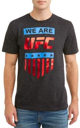 UFC Movies & Tv Men's Stars and Bars Graphic T-shirt, up to Size 3XL