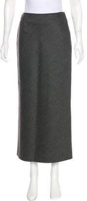 Marni Wool Midi Skirt