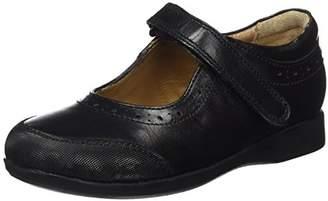 Xti Girls' 054047 Loafers Black Size: 2UK Child