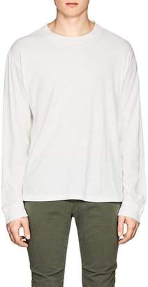 Simon Miller Men's Gage Embroidered Cotton T-Shirt
