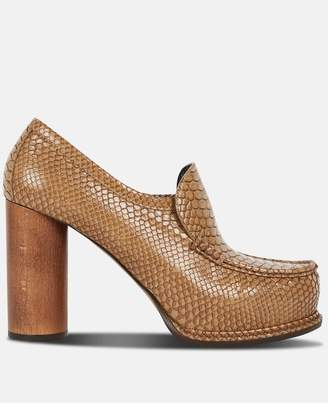 Stella McCartney Camel Platform Pump