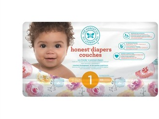 The Honest Company Diapers, Size 1, Rose Blossom