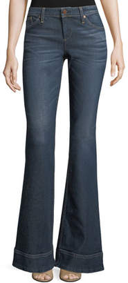Alice + Olivia AO.LA by Alice+Olivia Beautiful Low-Rise Bellbottom Jeans