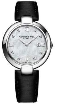 Raymond Weil Satin Strap Watch