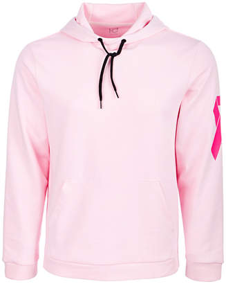 Id Ideology Men's Breast Cancer Awareness Pink Graphic Hoodie