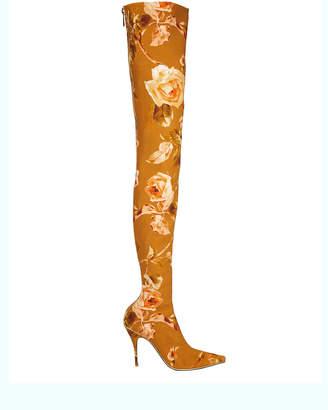 Zimmermann Thigh-High Floral Boots