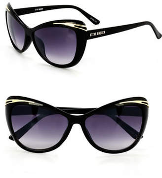 Steve Madden 55mm Cat-Eye Sunglasses