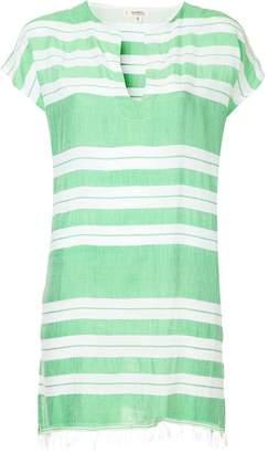Lemlem horizontal striped tunic dress