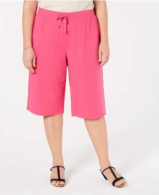 Karen Scott Plus Size Skimmer Pants