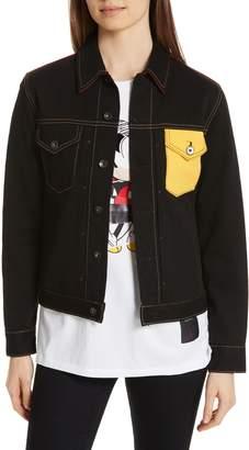 Rag & Bone Mickey Mouse Unisex Denim Jacket