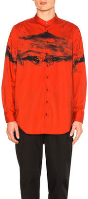Neil Barrett Stand Collar Shirt