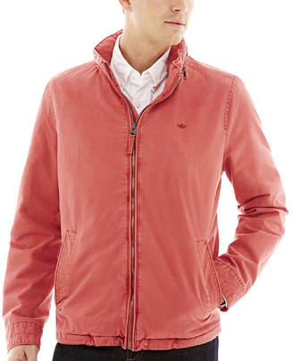 Dockers Stand-Collar Zip-Front Jacket