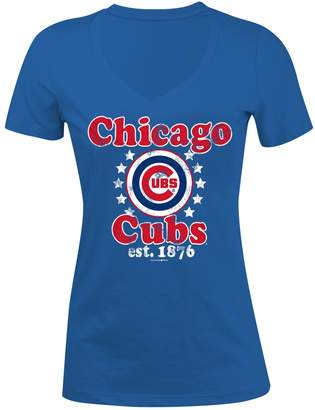5th & Ocean Women's Chicago Cubs Jersey Tee