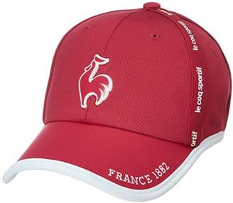 Le Coq Sportif (ル コック スポルティフ) - (ルコックスポルティフゴルフ) le coq sportif/GOLF COLLECTION ボウシ QGCLJC00 RD00 RD00(レッド) F