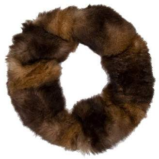 Saint Laurent Sheared Fur Snood w/ Tags