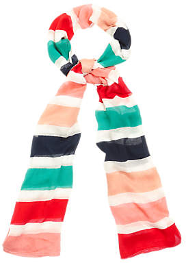 Phase Eight Faye Striped Scarf, Multi