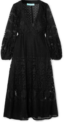 Melissa Odabash Melissa Cotton-blend Lace Dress - Black