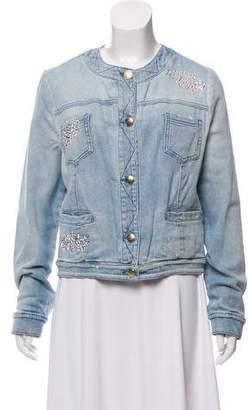 Blumarine Embellished Denim Jacket